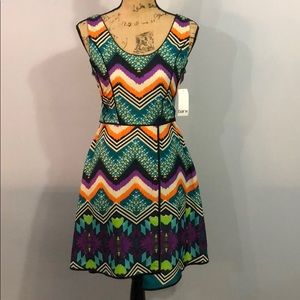 Bar III Multicolor Dress NWT size small